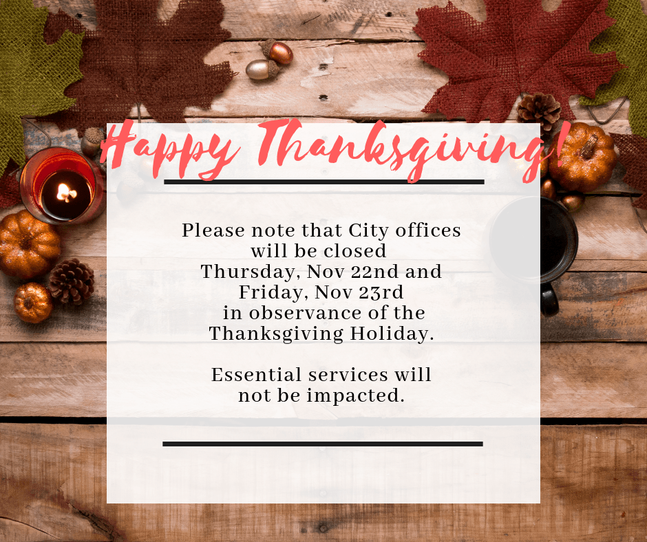 Thanksgiving Closure (1)