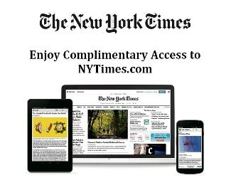 nytimesonline image with computer and mobile screens