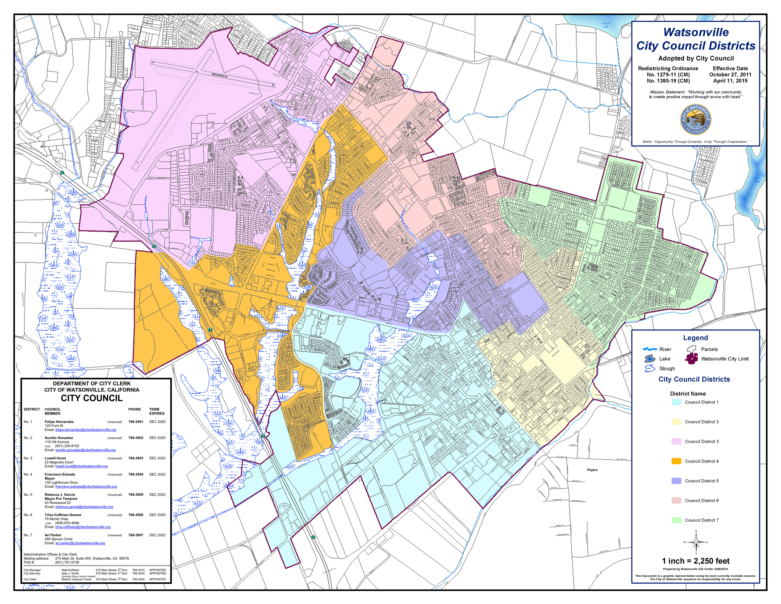 Council Districts FOR WEB A 2019