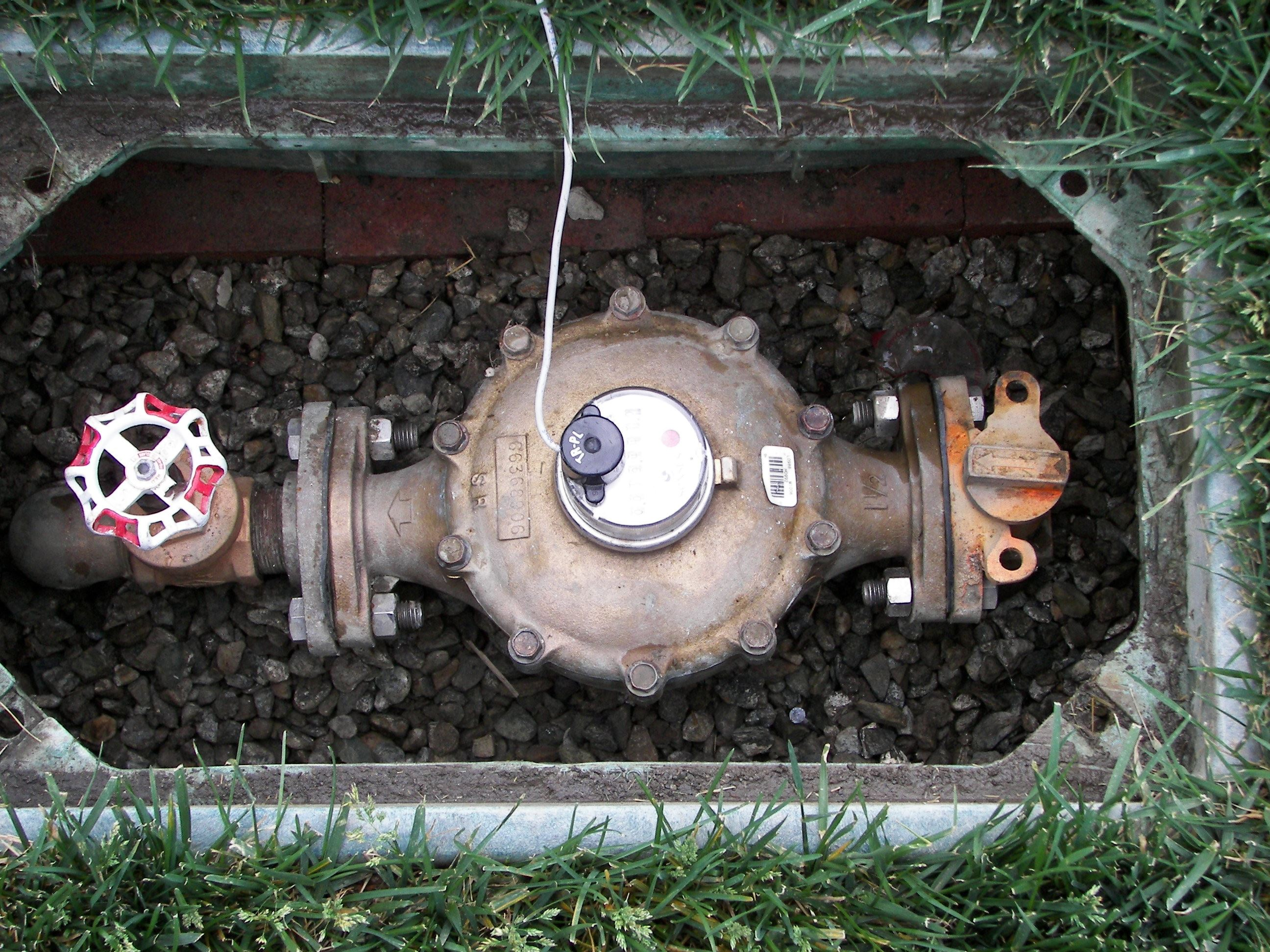 Water Meter Under the Ground