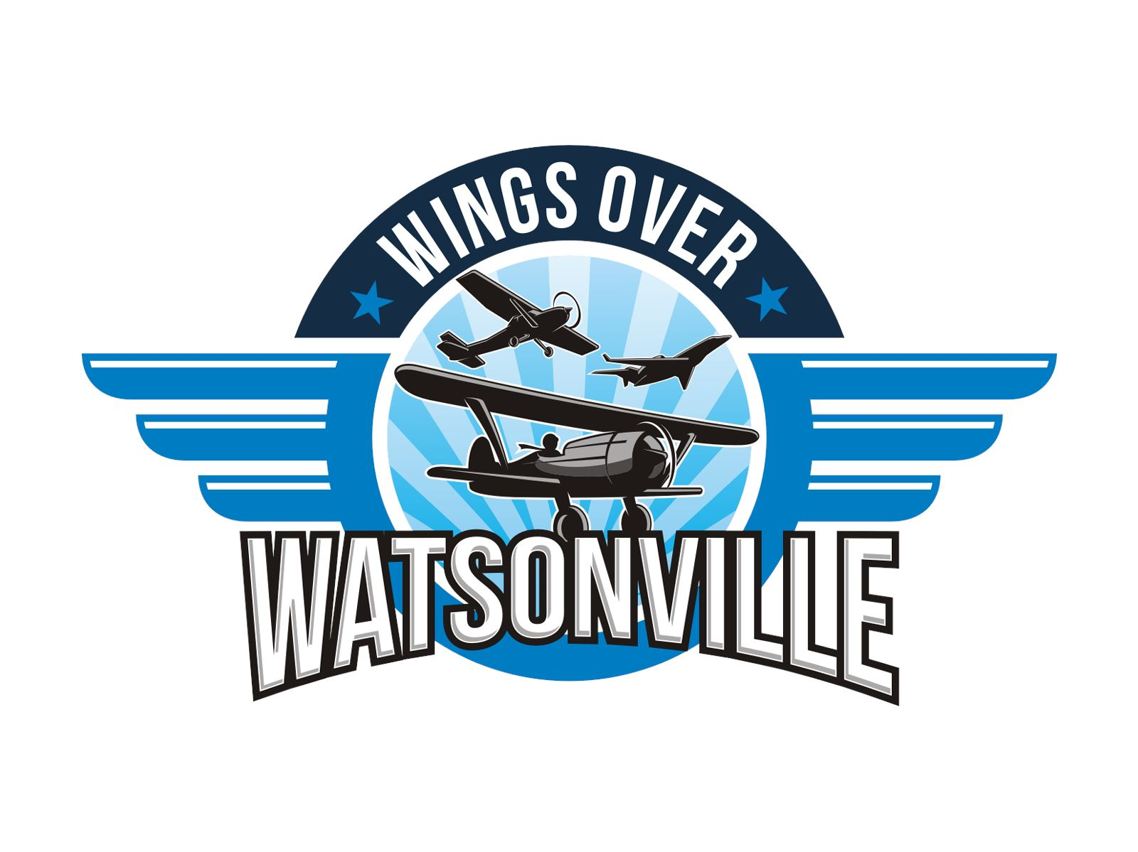 Wings Over Watsonville Logo