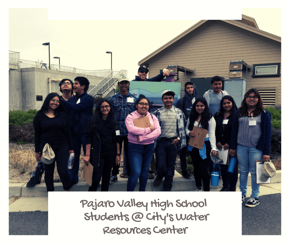 Pajaro Valley Students at Water Resources Center