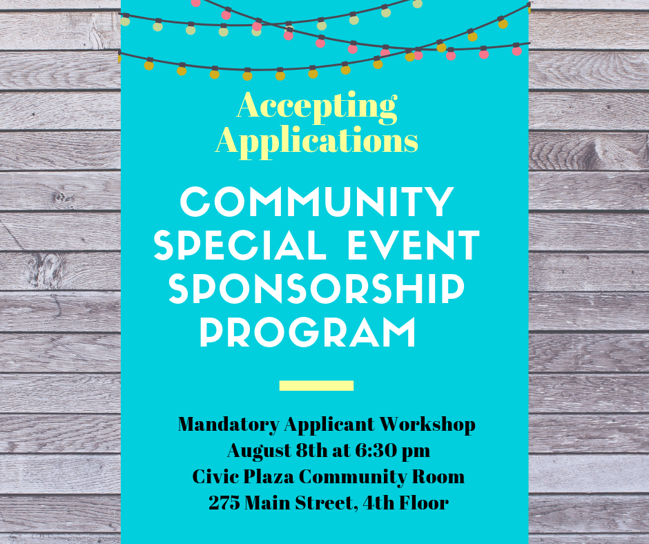 Community Special Event Sponsorship Program