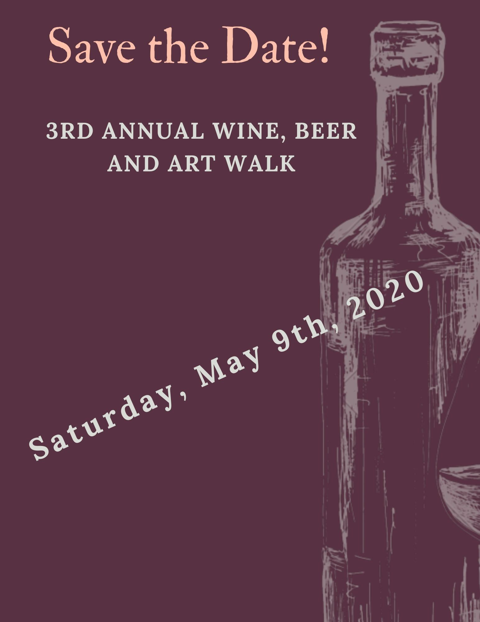 Save the Date! 2020 Wine Walk_for Website