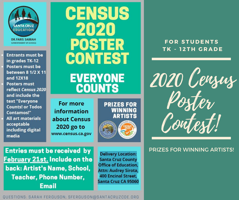 Census Poster Contest!