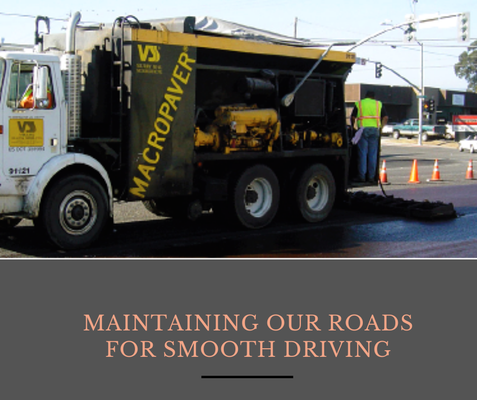maintaining our roads for smooth driving