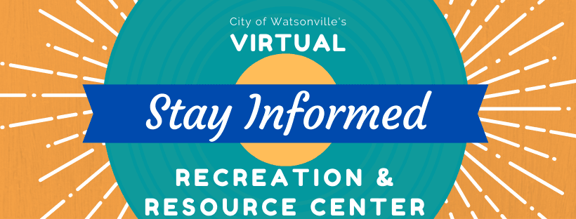 Virtual Rec Center - Stay Informed Banner