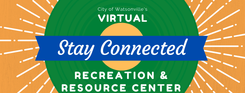 Virtual Rec Center - Stay Connected Banner