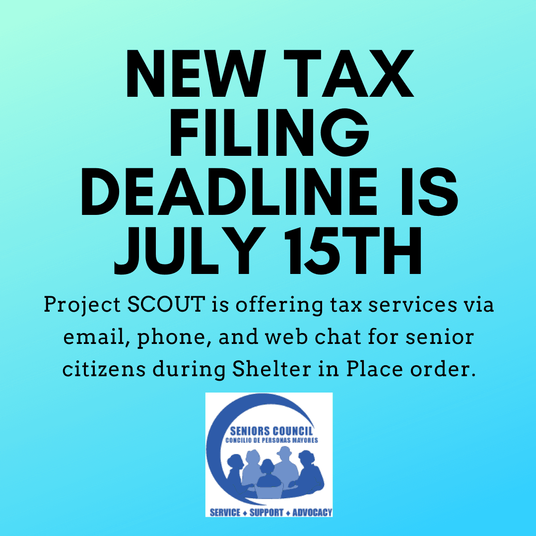 New tax filing deadline is july 15th