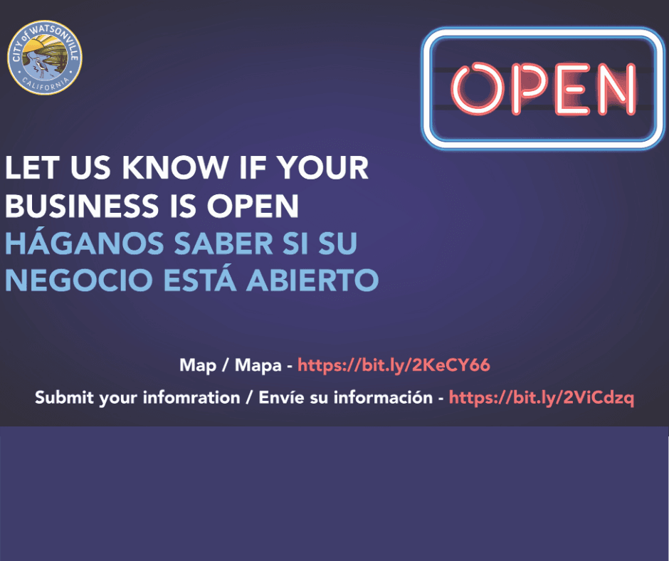 Businesses Open