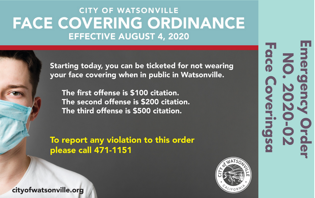 Emergency Order 2020-02 Face Coverings