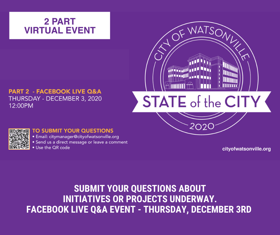 State of the City Event - December 3rd