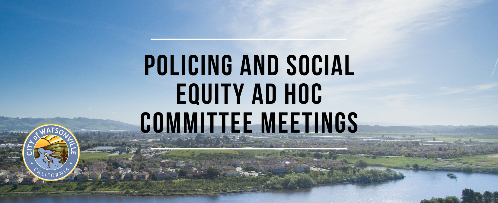 _policing_social equity ad hoc committee meeting schedule