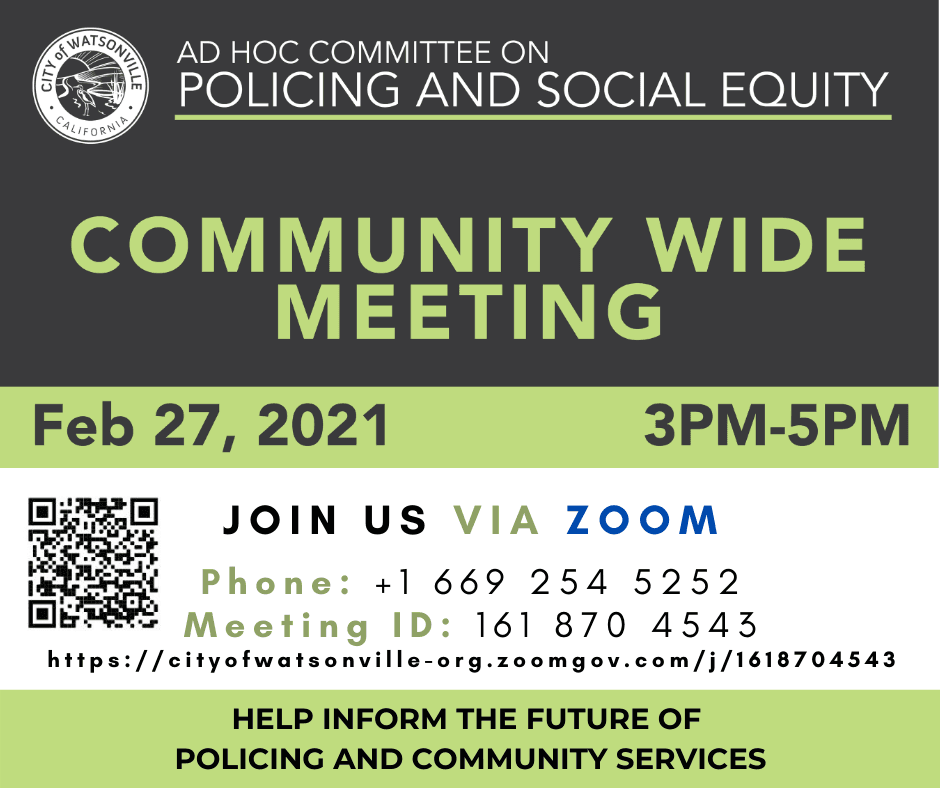Policing_Social Equity_Community Wide Mtg_FB