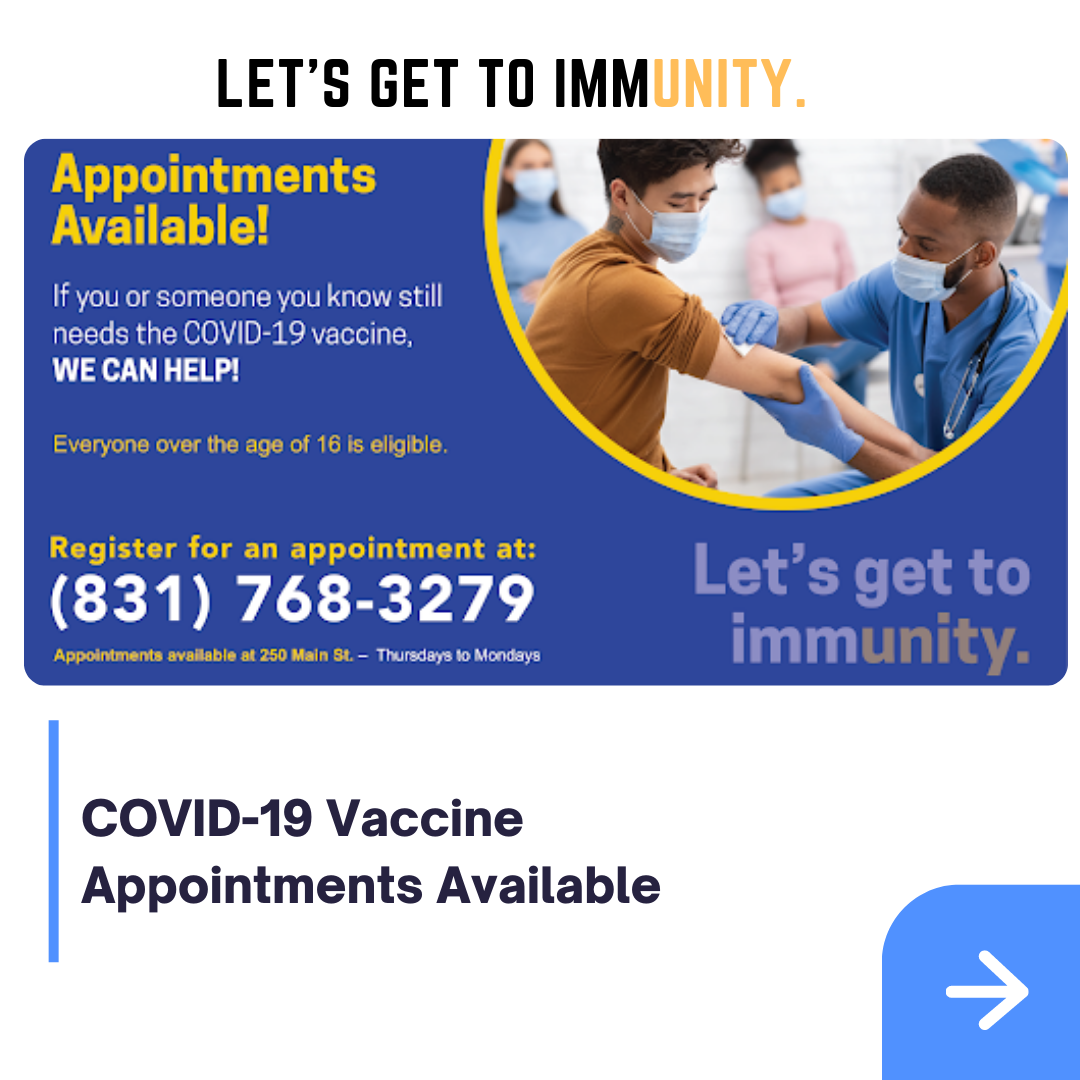 Vaccine_Appointments Available