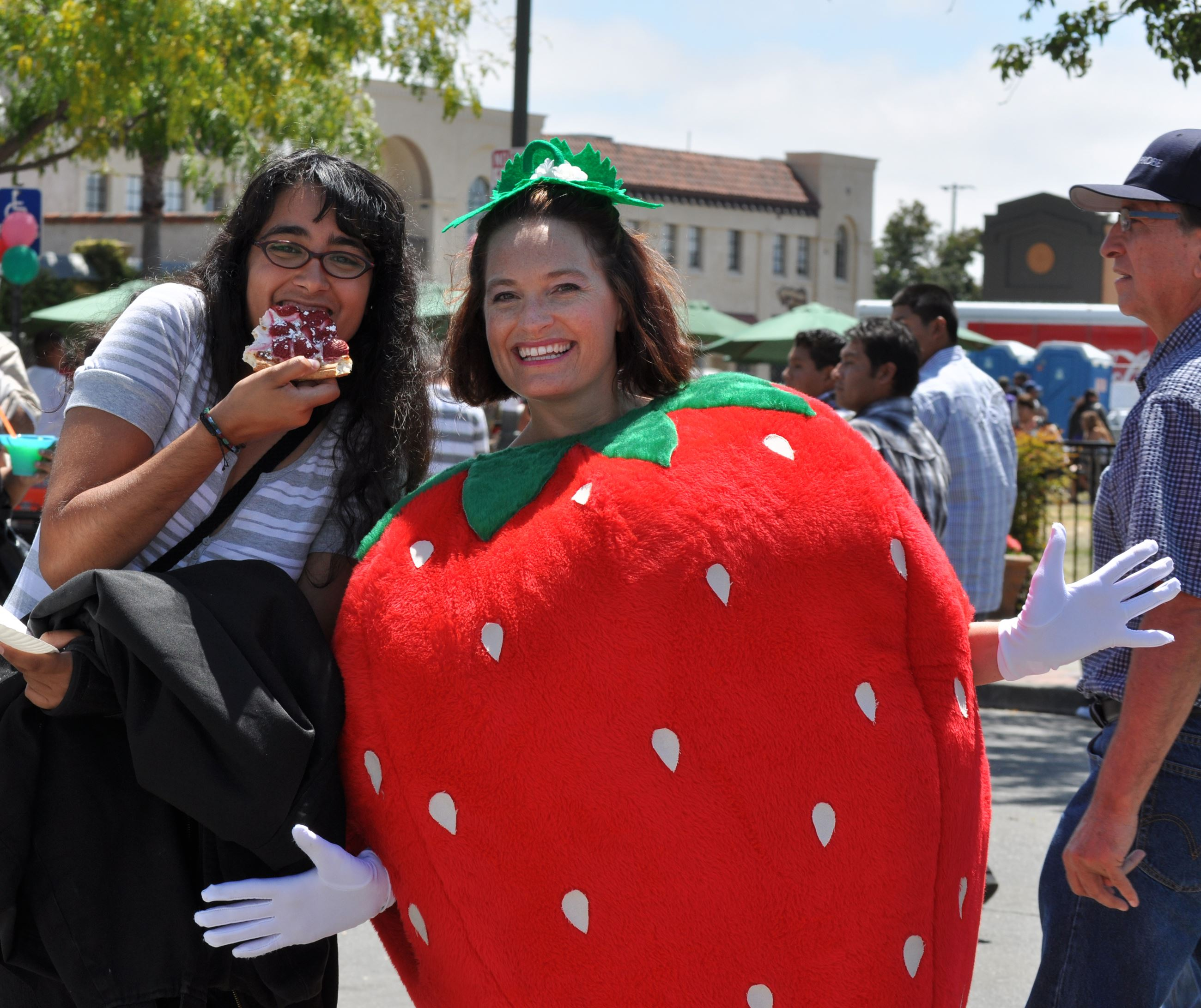 Strawberry Festival Princess