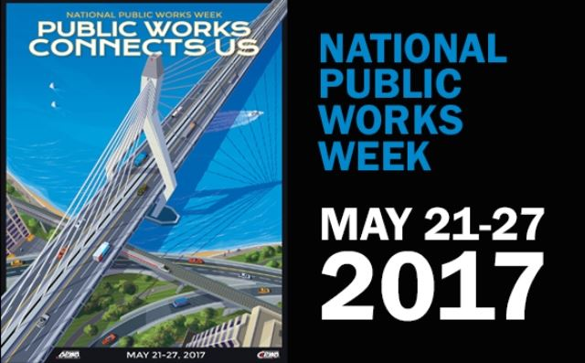 Public Works Week Poster