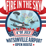 Fire in the Sky Event Logo