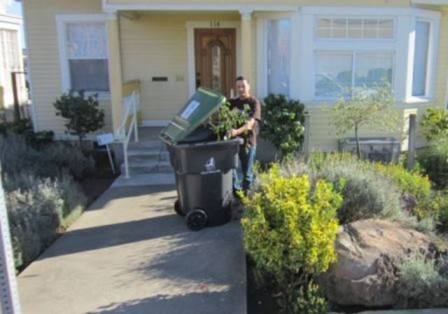 Curbside Collection of Yard Waste is FREE