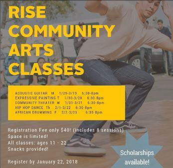RISE Art Classes