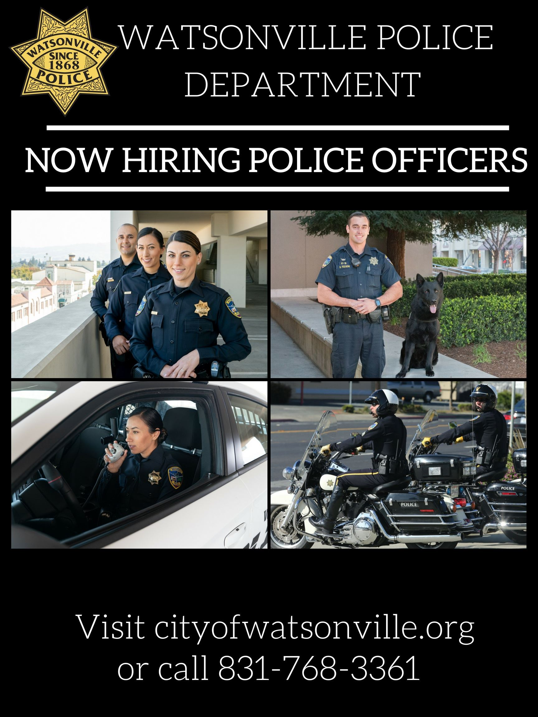 PD RECRUITMENT FLYER