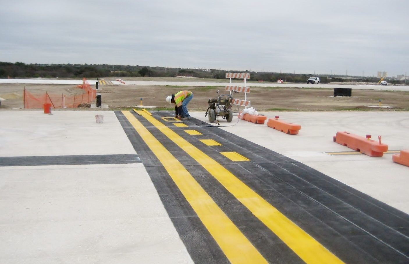 Runway at Airport
