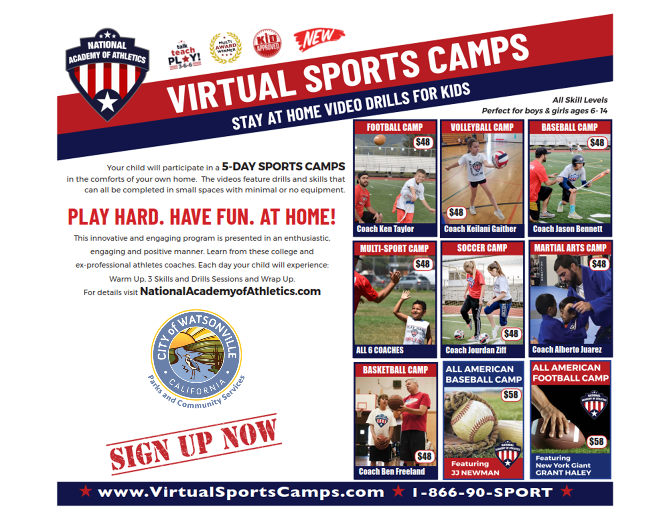 Virtual Sports Camps