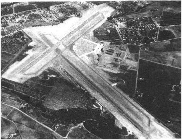 Original Runway of Watsonville Airport