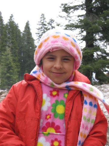 2007 Snow Trip Colorful Girl