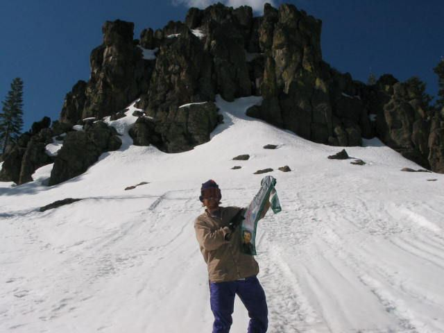 2007 Snow Trip Curt on the Mountain