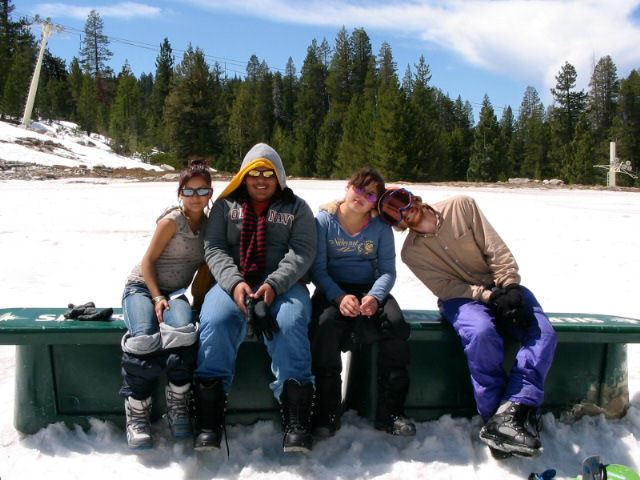 2007 Snow Trip Curt, Martin and Juanita