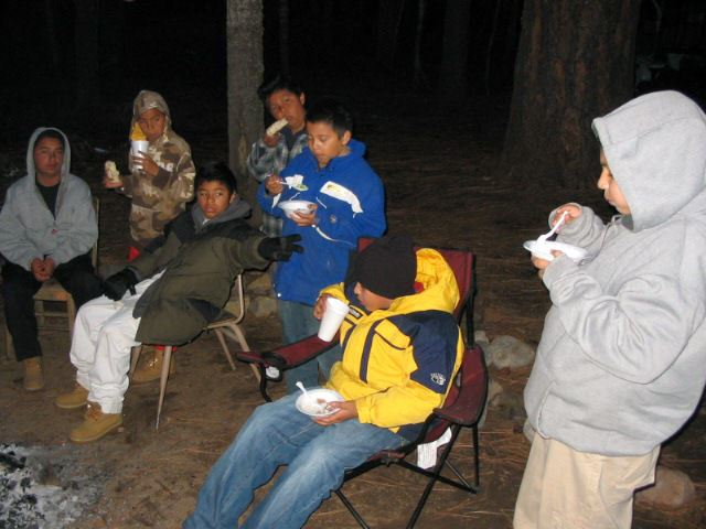 2007 Snow Trip Eating