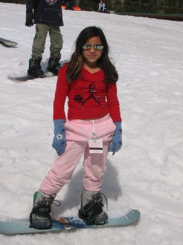 2007 Snow Trip Little Girl