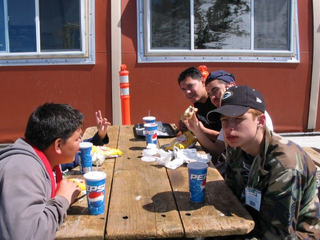 2007 Snow Trip Lunch