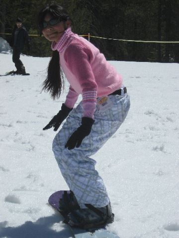 2008 Snow Trip Magali